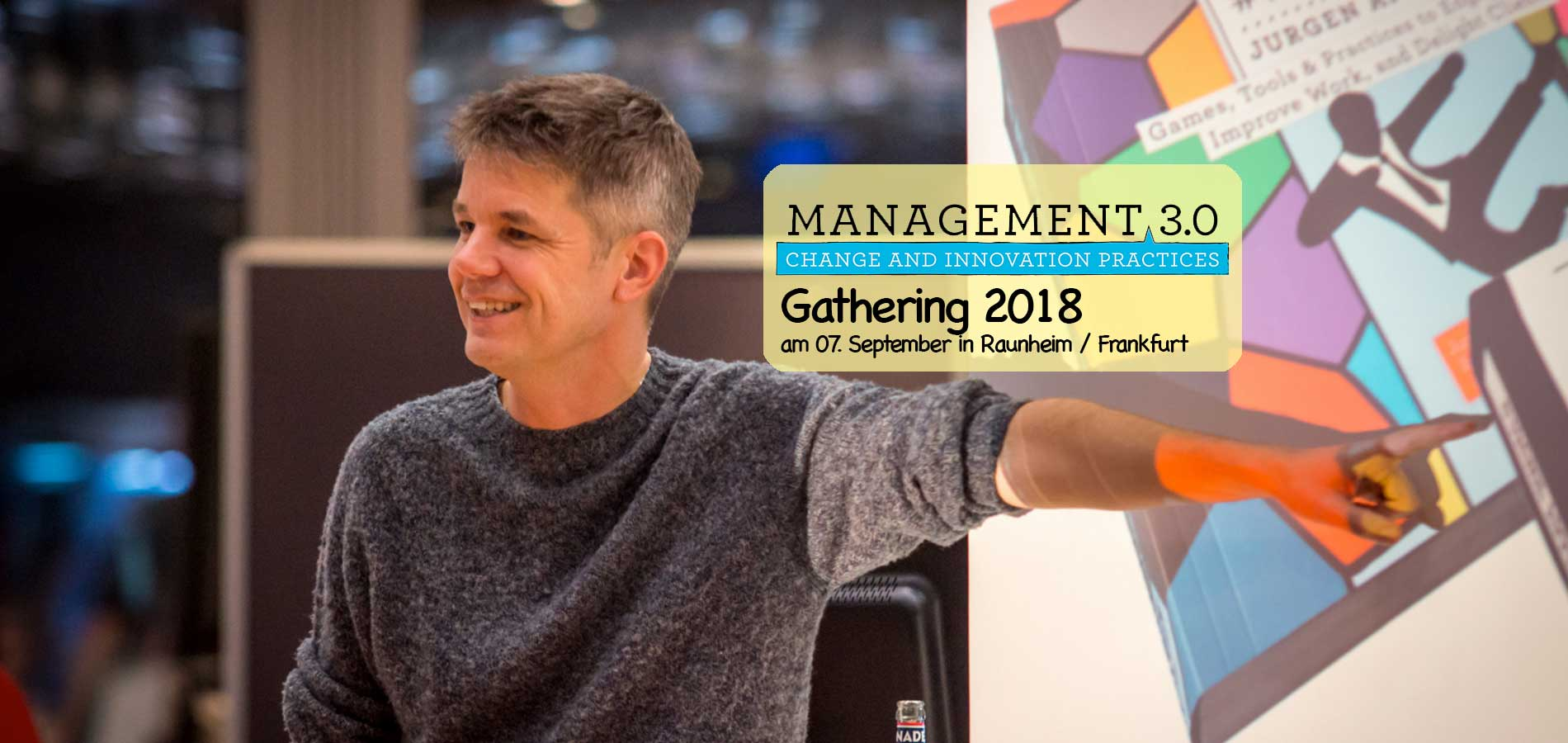 2. Management 3.0 Gathering 2018 - Deutschland
